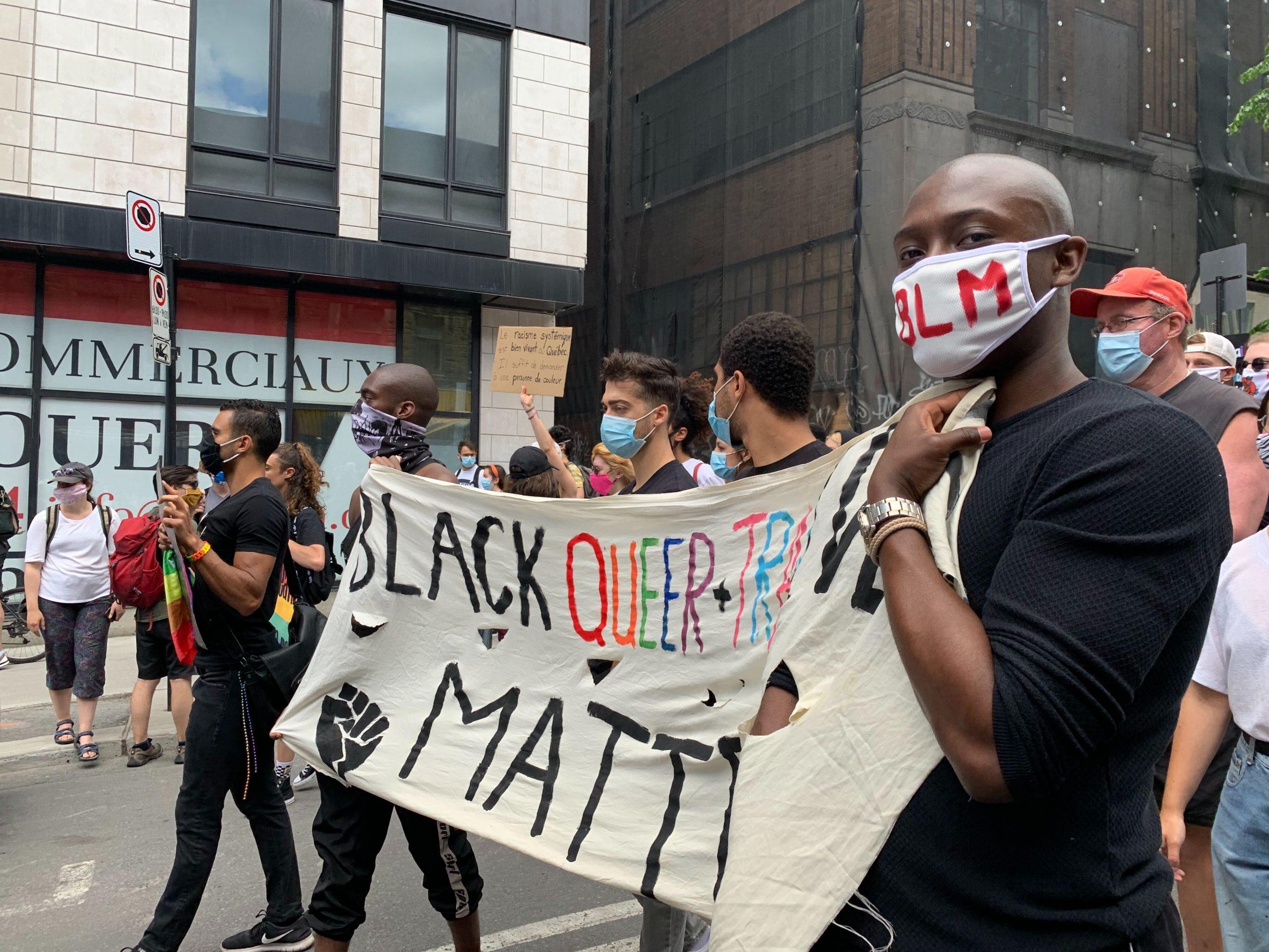 Manifestation Montréal 7 juin 2020