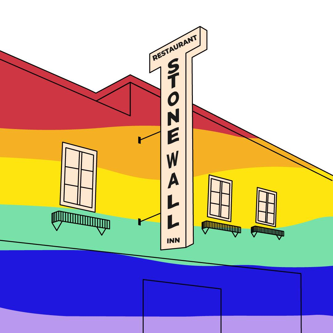 Stonewall Inn, Illustration par Camille Courrié