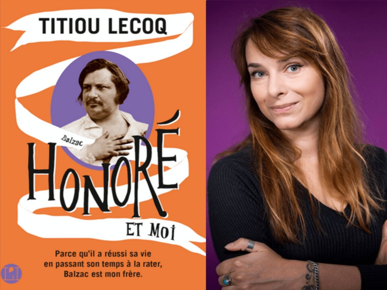 Titiou Lecoq et son nouveau livre : Honoré et Moi