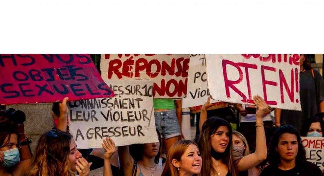 Manifestation #Iwas en Corse, photo Cécile Mansier