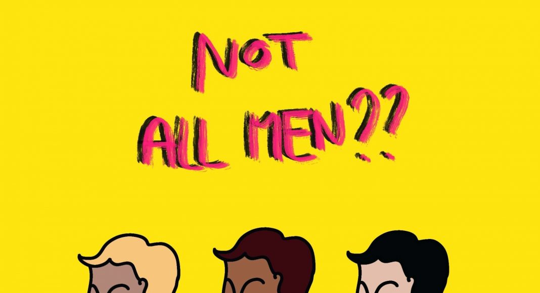 Not all men, illustration par Emma Kraemer