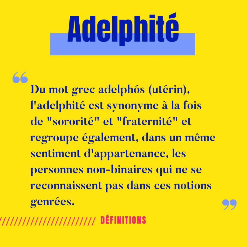 définition de l'adelphité
