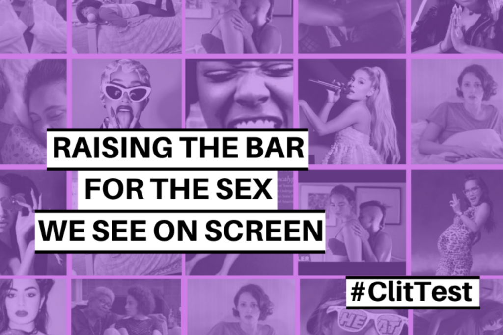 Clit Test : raising the bar for the sex we see on screen