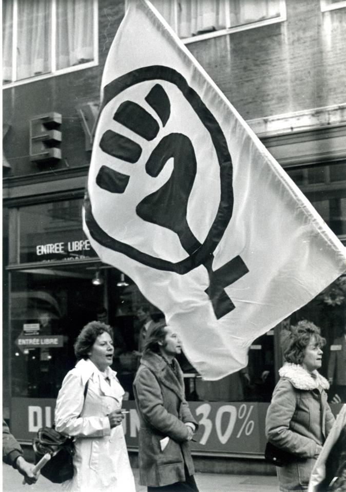 Manifestation féminine