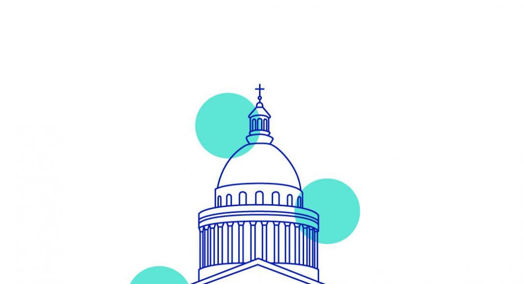 Panthéon, illustration par Camille Courrié