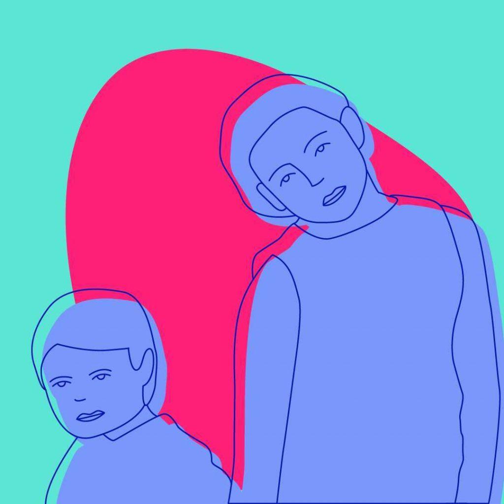 Lettre à mon frère, illustration par Camille Courrié