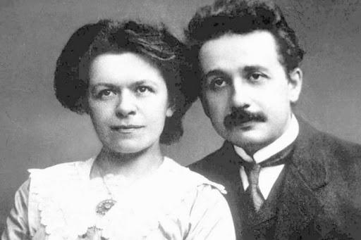 Mileva Maric Einstein et Albert Einstein
