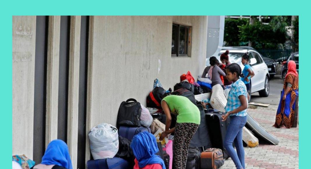 Travailleuses domestiques éthiopiennes immigrées au Liban