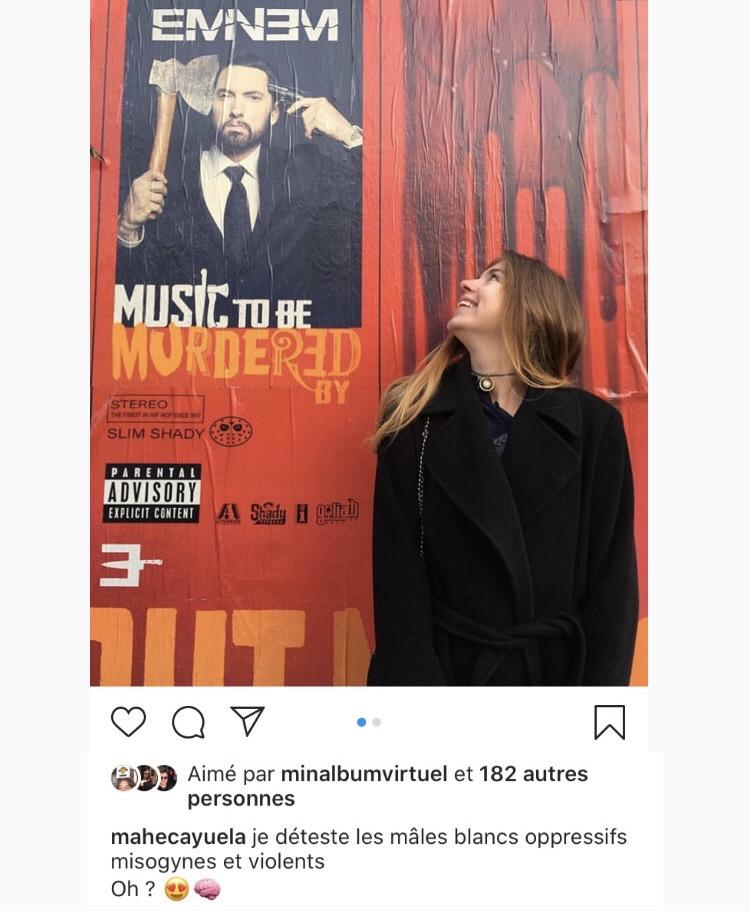 Screenshot d'une photo instagram