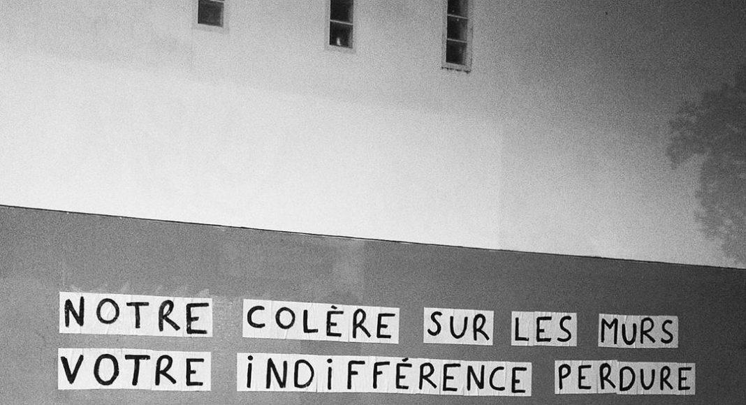 Collage féministe à Toulouse