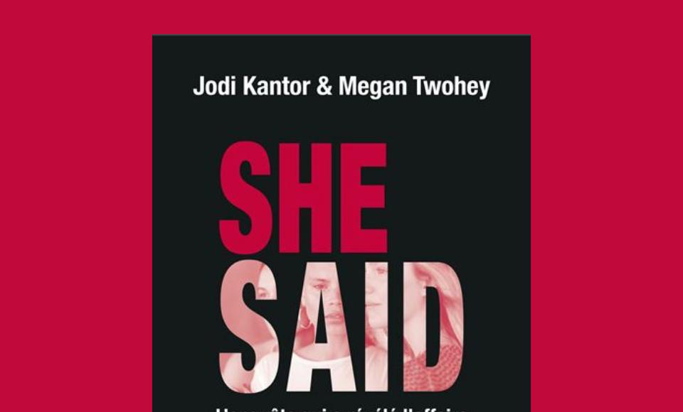Couverture du livre She said