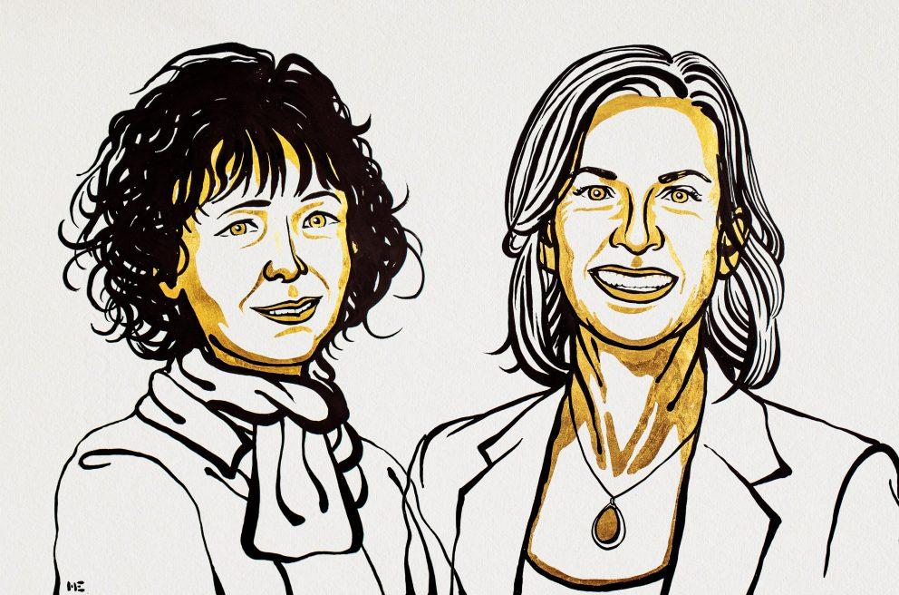Emmanuelle Charpentier et Jennifer Doudna, prix Nobel de chimie