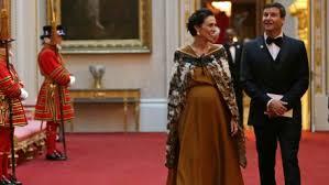 Jacinda Ardern à Buckingham Palace