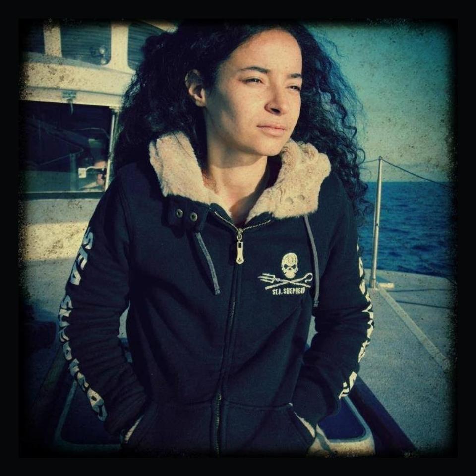 Lamya Essemlali présidente de Sea Sheperd France