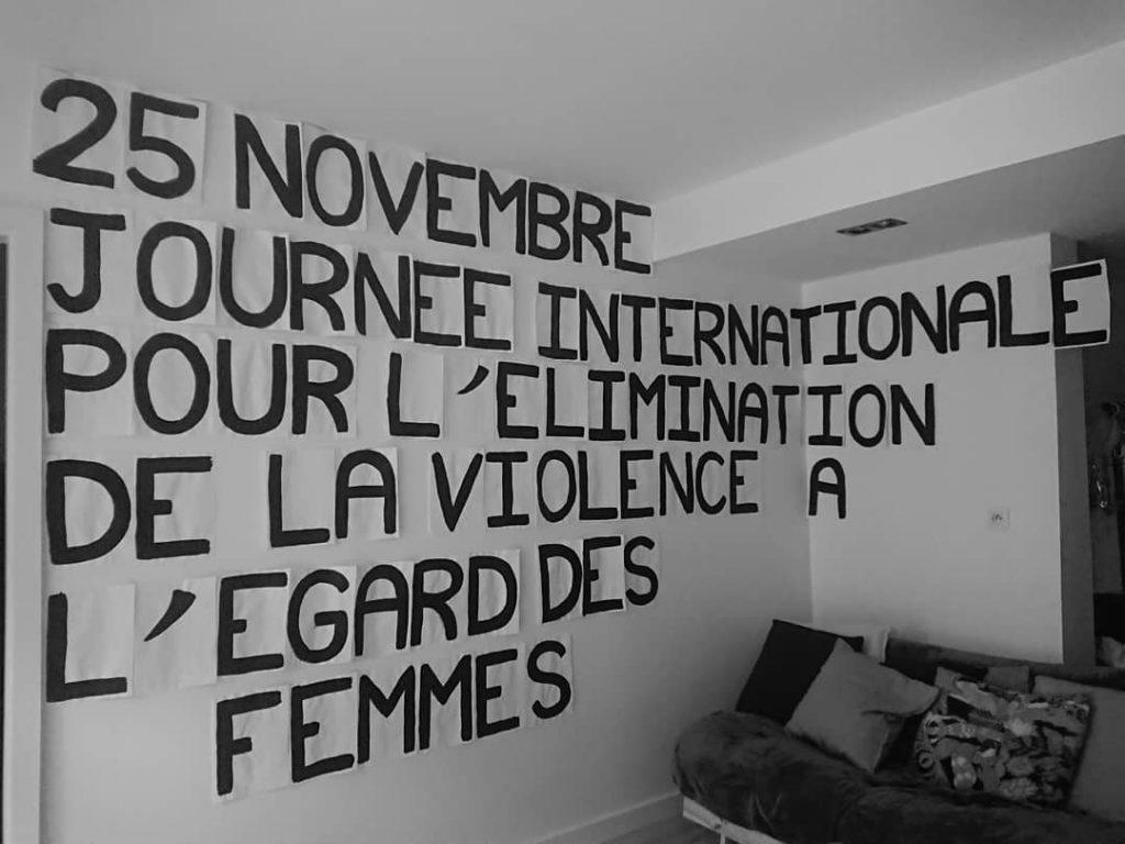 Collage pour le 25 novembre : journée internationale pour l'élimination de la violence à l'égard des femmes