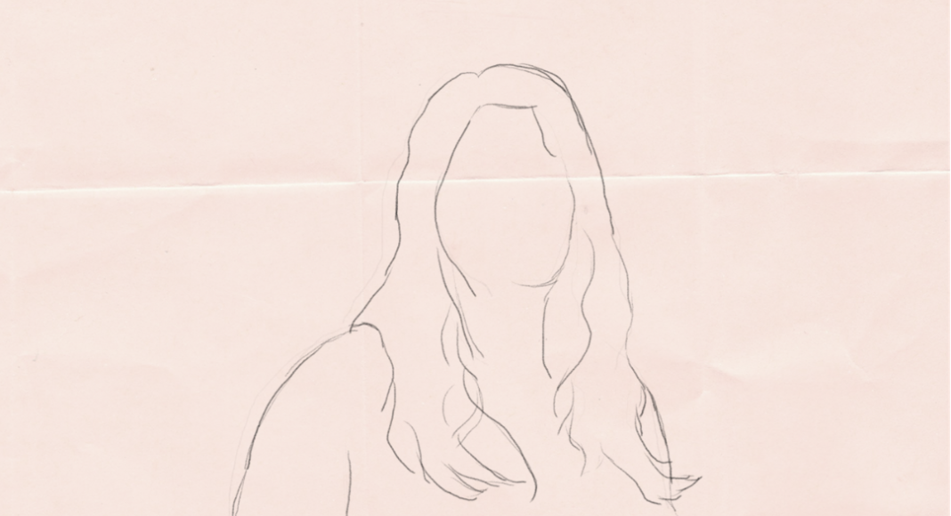 Illustration femme grosse