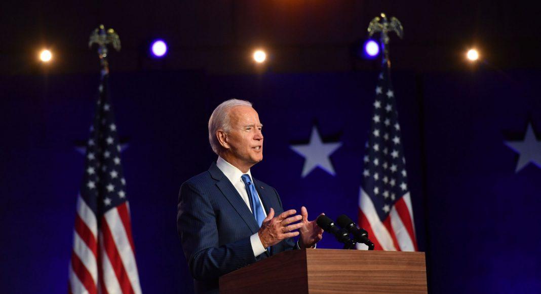Joe Biden le 6 novembre à Willington