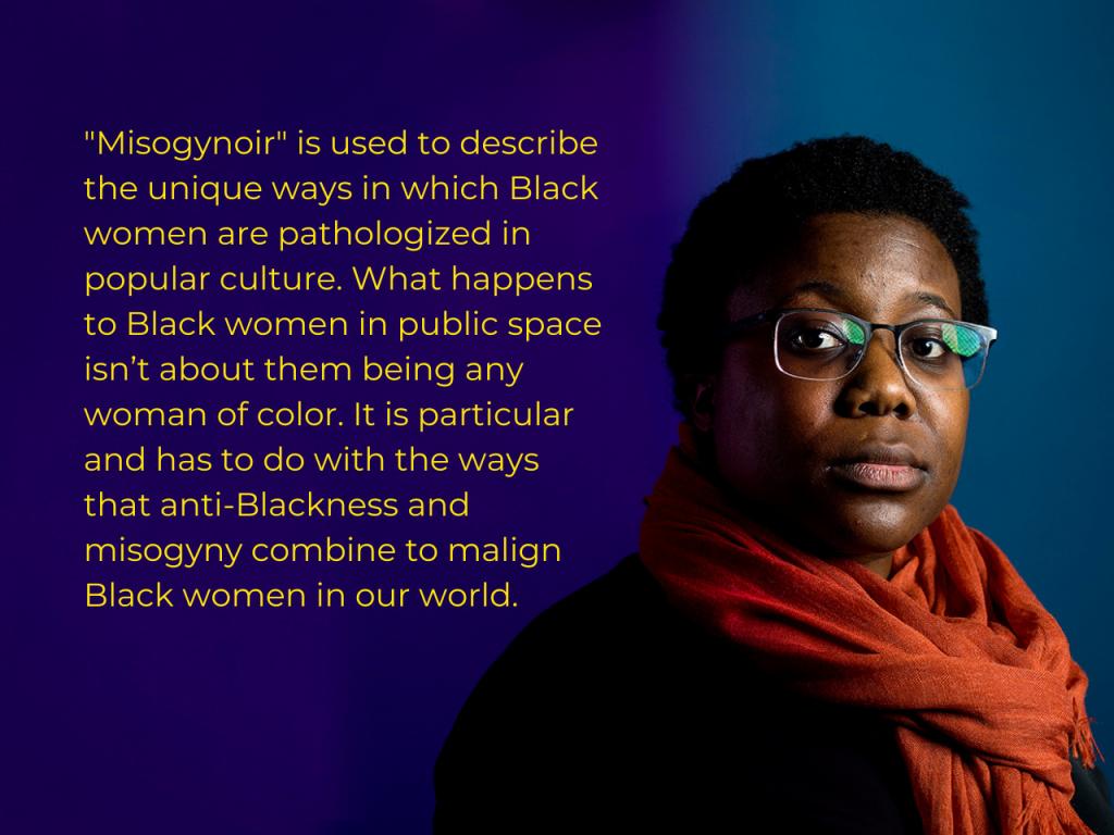 Moya Bailey, créatrice du terme Misogynoir