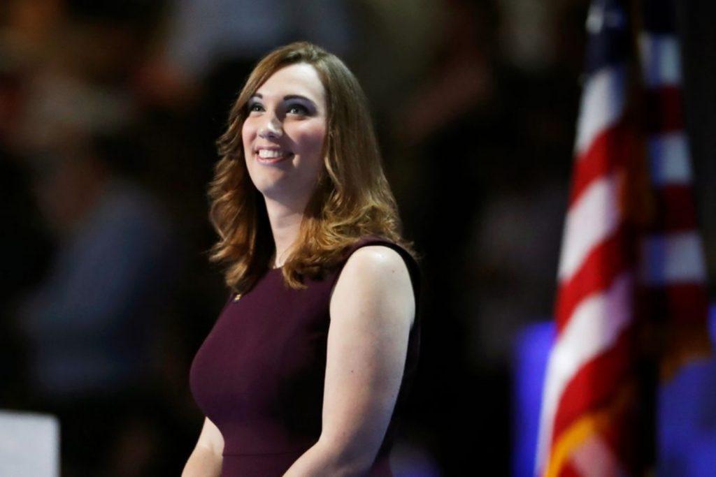 Sarah McBride, première sénatrice ouvertement transgenre des Etats-Unis