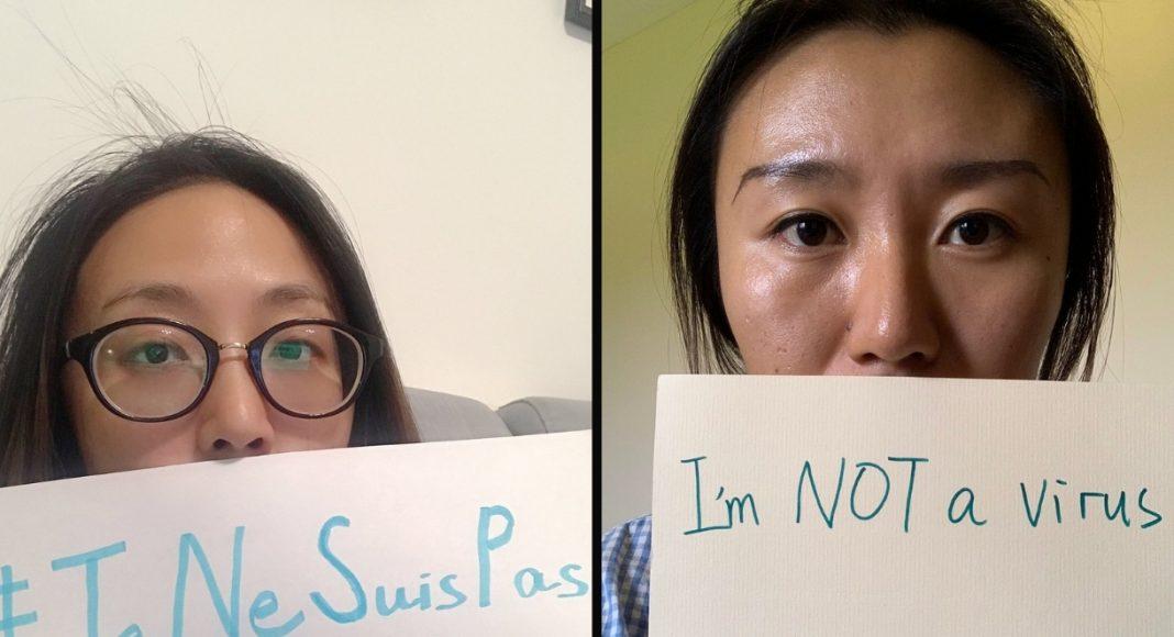 La communauté asiatique se défend contre le racisme antiasiatique avec le hashtag #imnotavirus