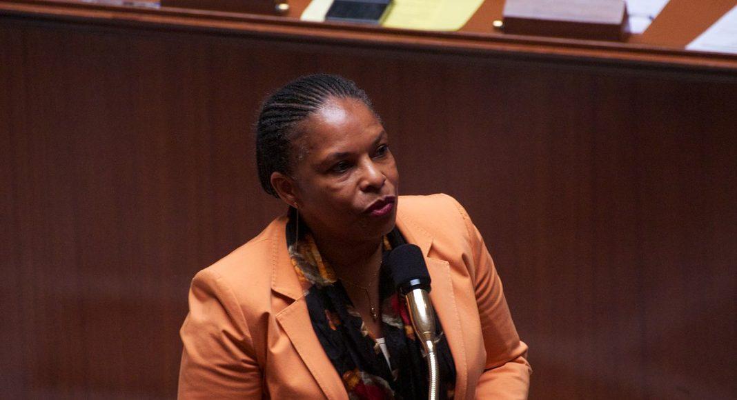 Christiane Taubira lors du vote sur le mariage pour tous