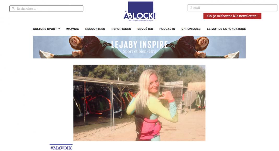 Capture d'écran du site ablock.fr