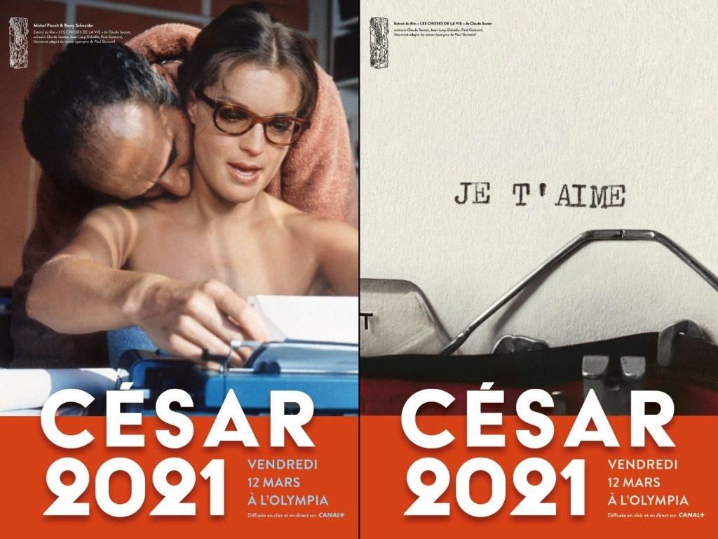 Affiches officielles de la 46ème cérémonie des César