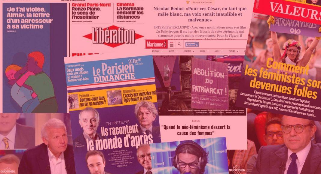 Le traitement des sujets féministes par les médias français