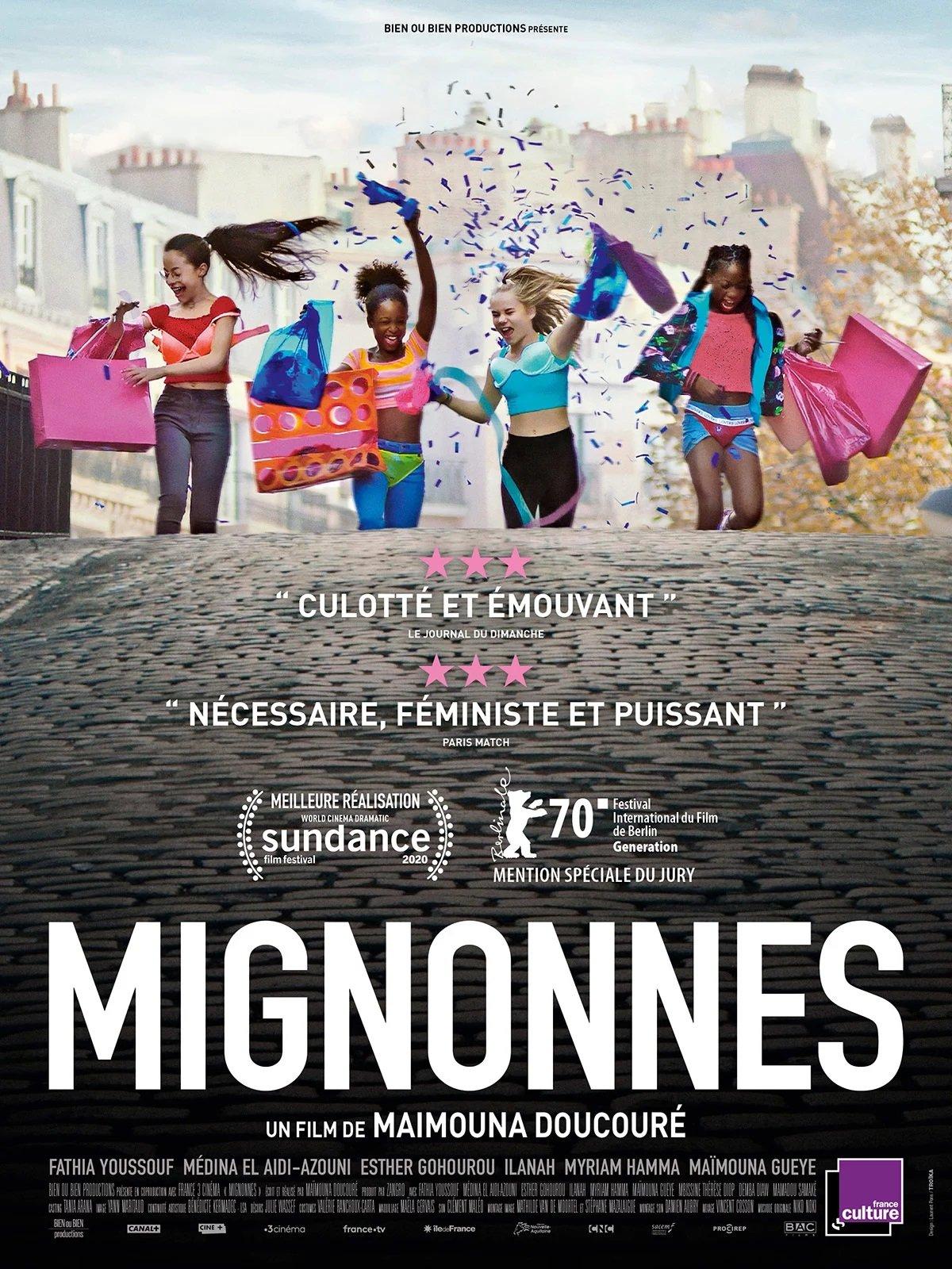 Mignonnes, affiche du film