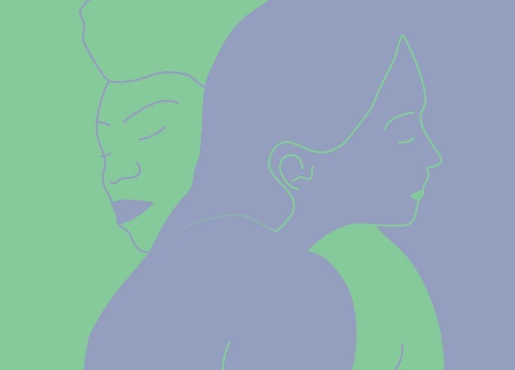 Illustration sur les violences dans les couples de femmes