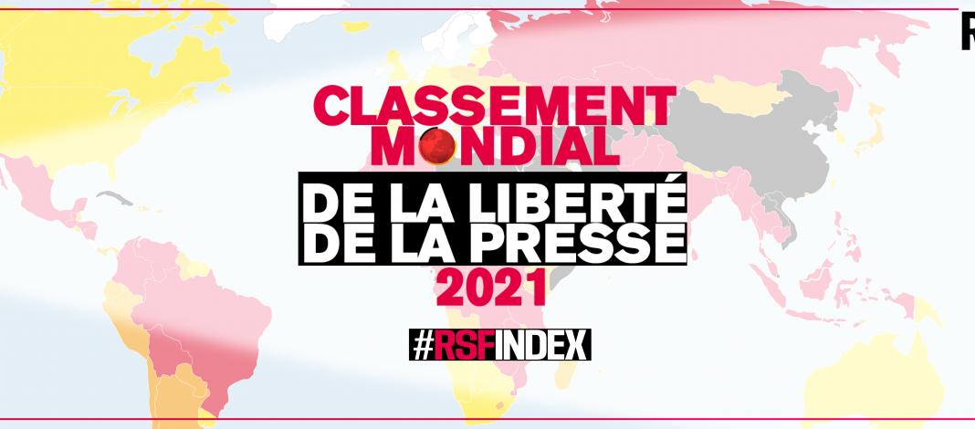 Image de présentation du #RSFINDEX, le classement mondial de la liberté de la presse