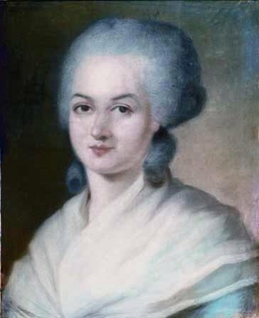 Portrait d'Olympe de Gouges par Alexandre Kucharski