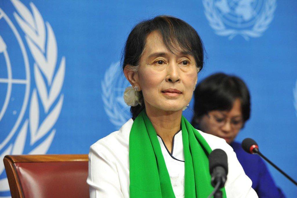 Aung San Suu Kyi. Crédit : Flickr.
